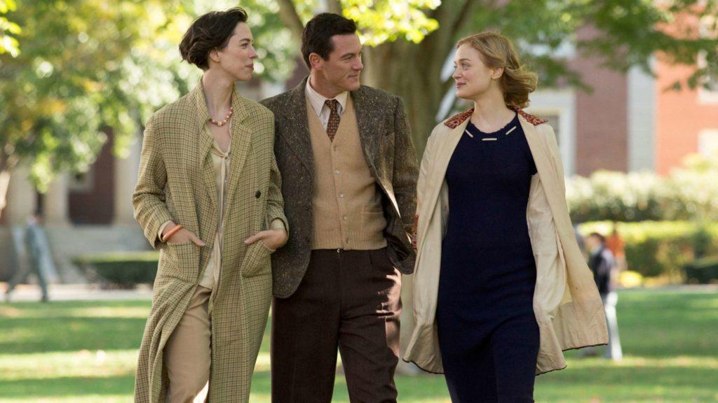 Elizabeth (Rebecca Hall), Bill (Luke Evans) and Olive (Bella Heathcote) in Professor Marston and the Wonder Women